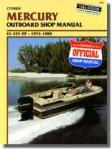 1972-1989 Mercury 45-225 hp Outboard Boat Engine Repair Manual
