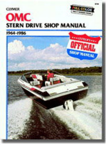 Clymer OMC 1964-1986 Stern Drive Repair Manual