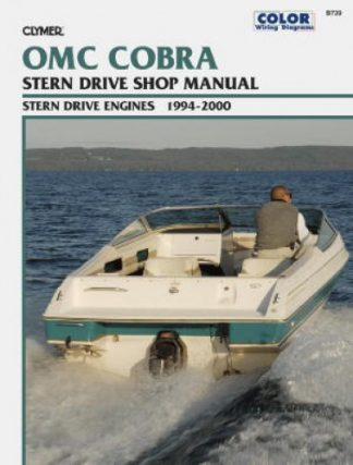 Clymer 1994-2000 OMC COBRA Stern Drive Repair Manual