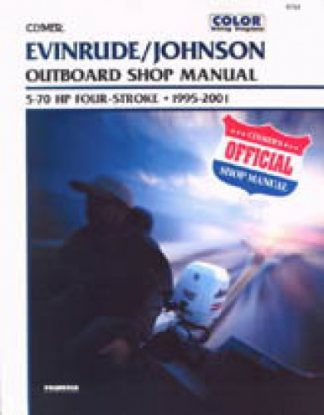 Clymer Johnson - Evinrude 4-Stroke outboards 5-70HP 1994-2001 Outboard Shop Manual