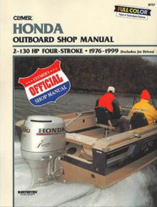 Clymer Honda 2-130 HP Four Stroke 1976-1999 Outboard Repair Manual