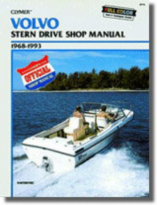 Clymer Volvo 1968-1993 Stern Drive Repair Manual