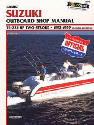 Clymer Suzuki 75-225hp Two-stroke 1992-1999 Outboard Repair Manual