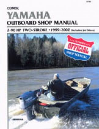 Clymer Yamaha Outboards 2-90 hp 1999-2002 Repair Manual
