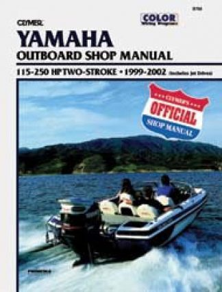 Clymer Yamaha 115-250 hp Two-Stroke Outboards 1999-2002