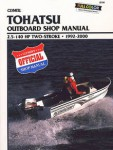 Clymer Tohatsu 1992-2000 Outboard Repair Manual