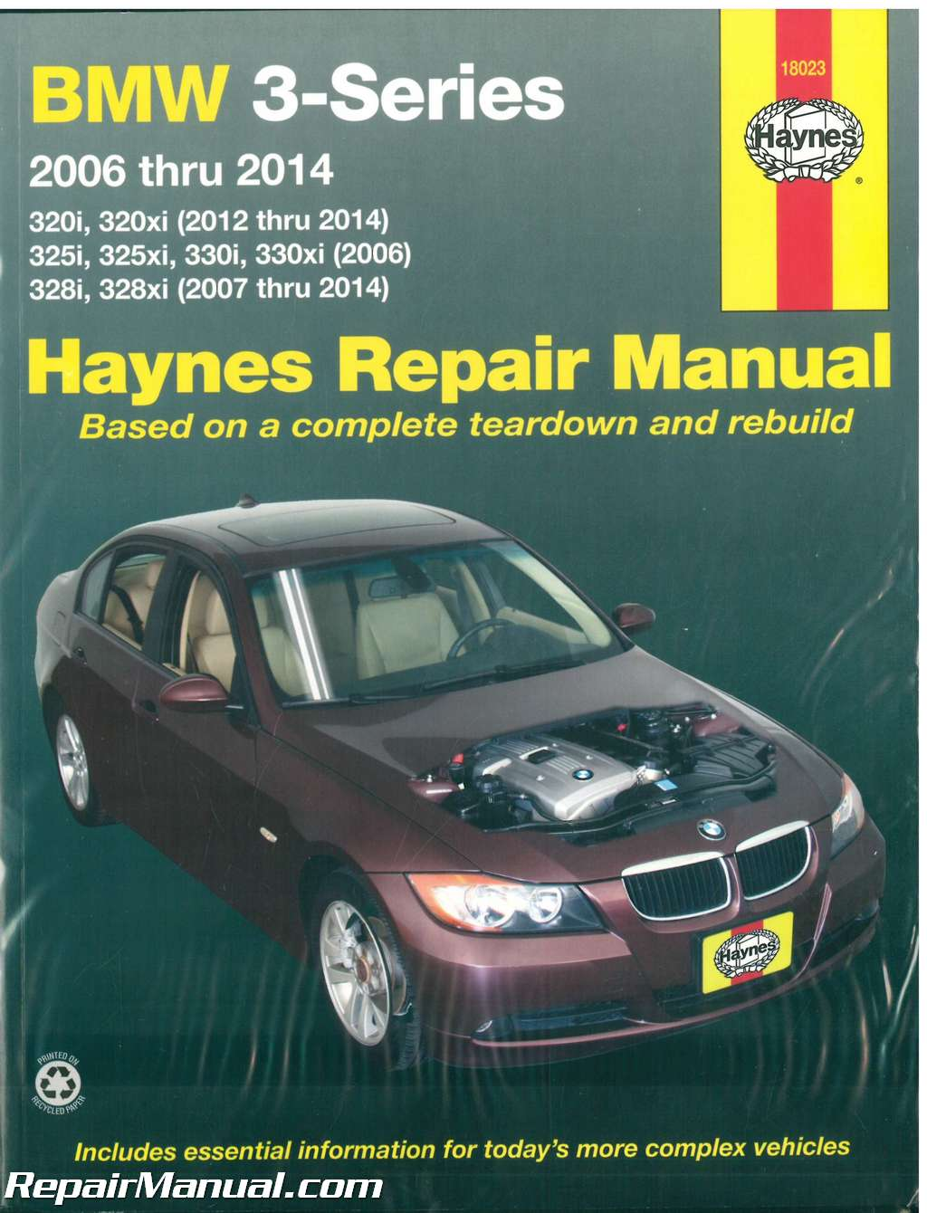 BMW 3 Series 2006-2014 Automotive Service Repair Manual_001