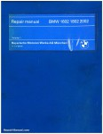 BMW Shop Manual for BMW 1602 1802 2002 Automobiles_Page_1