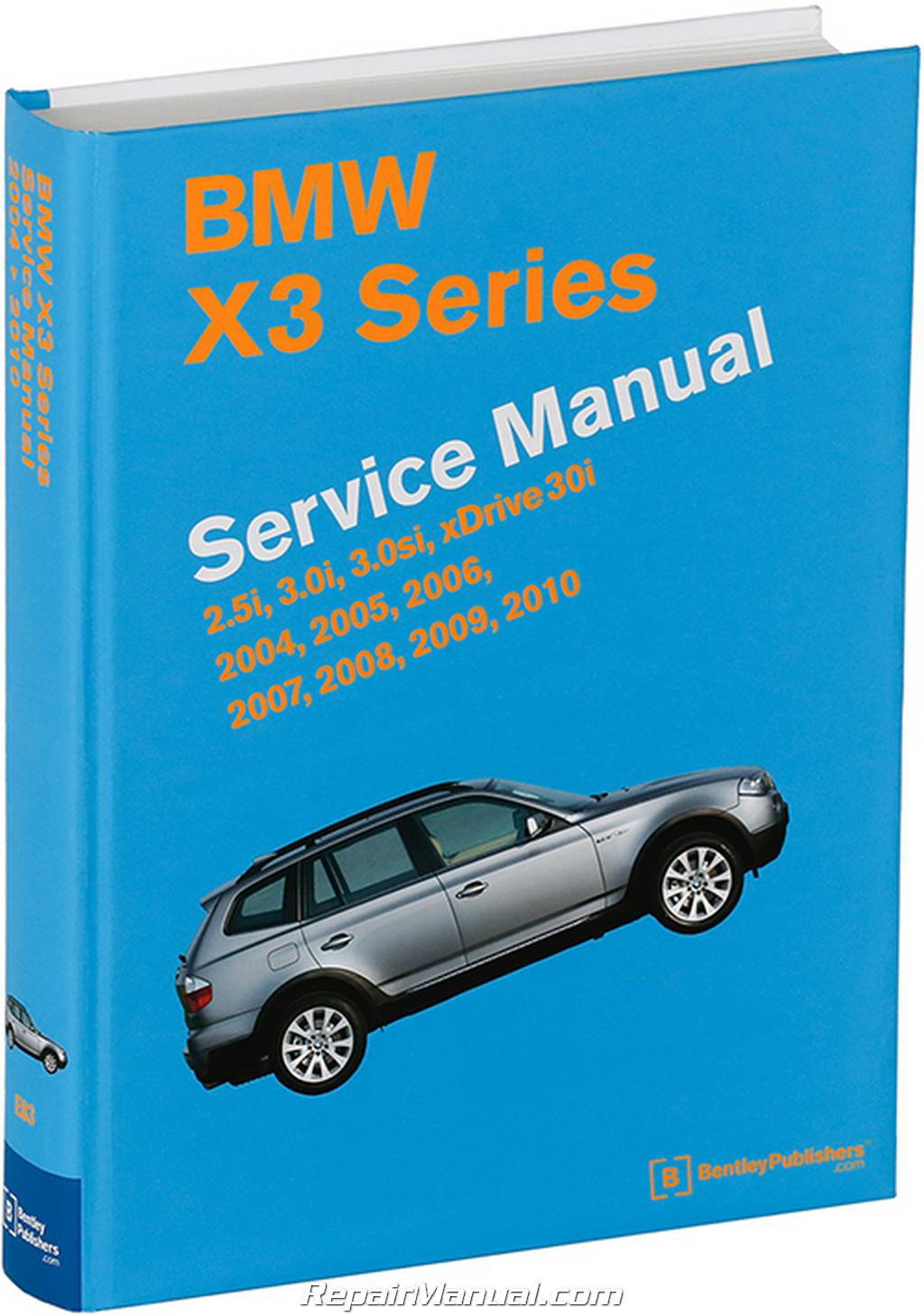 bmw x3 m54 n52 engines printed service manual 2004 2010 rh repairmanual com 2009 BMW Premium Package Includes 2009 BMW