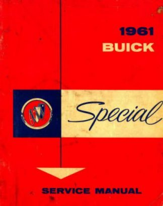 Used 1961 Buick Special Shop Manual