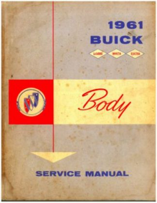 Used 1961 Buick Body Service Manual