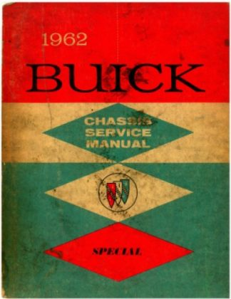 1962 Buick Skylark Chassis Service Manual Special