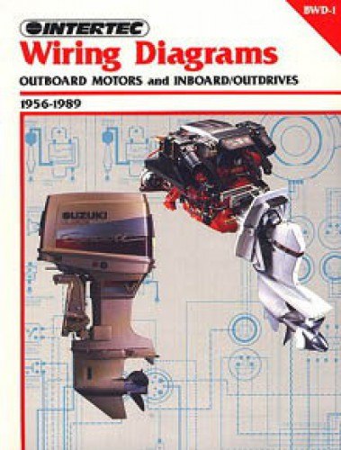 Bwd 1 1956 1989 Wiring Diagram Manual For Outboard Motors And Inboard Outdrives