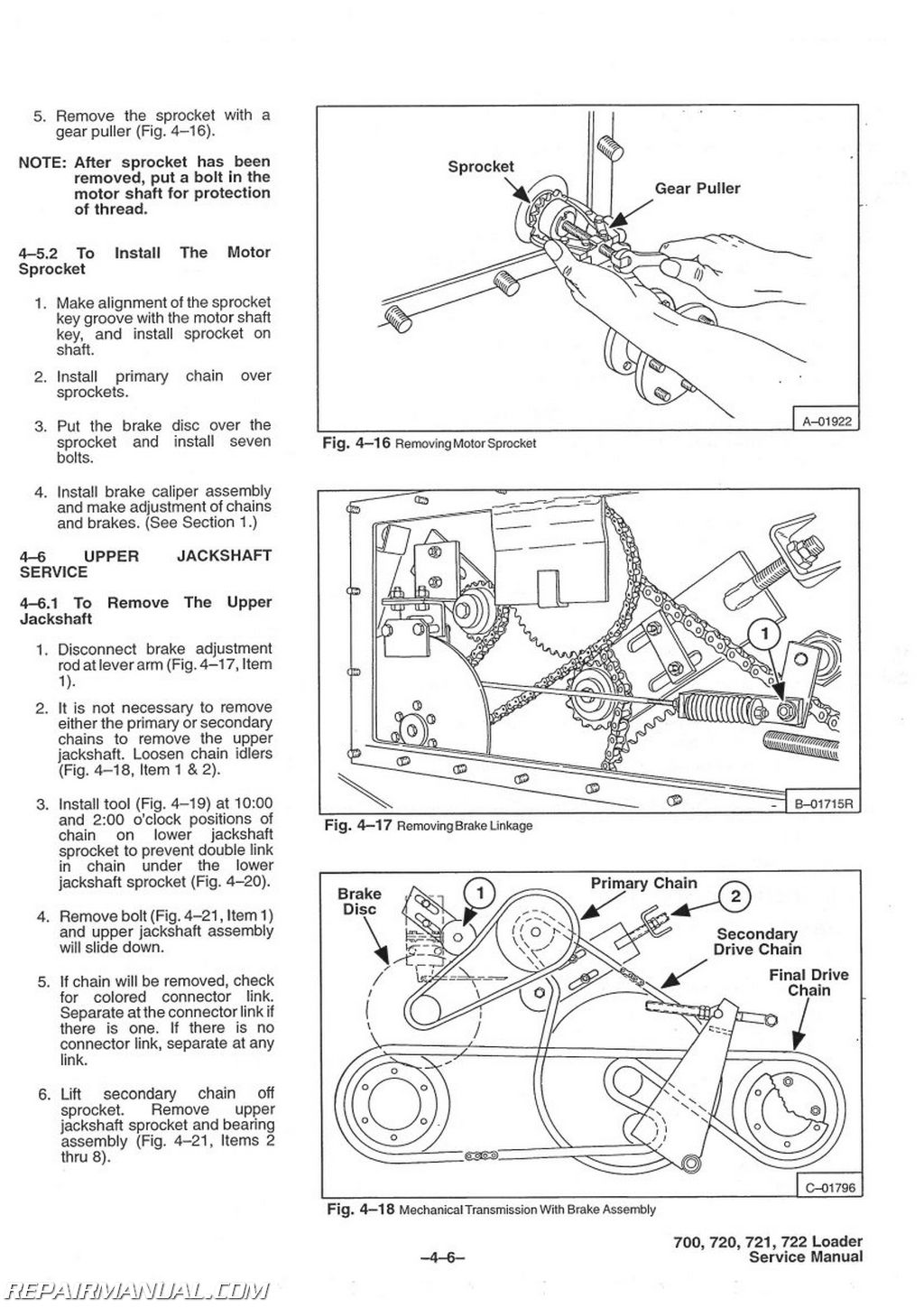 bobcat 700 720 721 722 skid steer service manual Bobcat Hydraulic Schematic Bobcat Hydraulic Schematic #53 bobcat hydraulic schematic