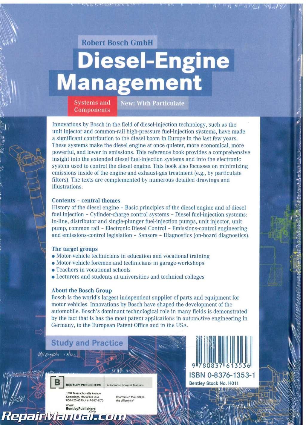 bosch diesel engine management 4th edition h011 ebay. Black Bedroom Furniture Sets. Home Design Ideas
