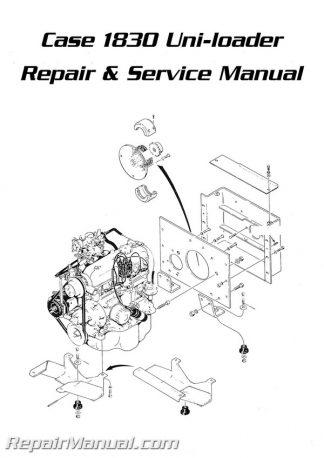 Case 1830 Uniloader manual