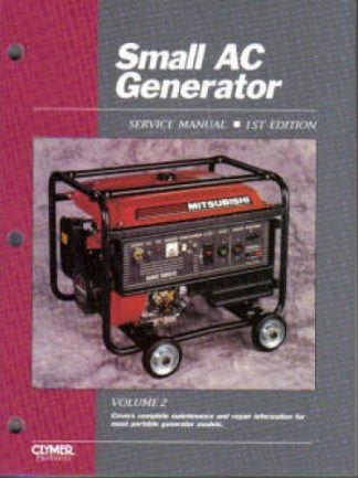 CLYMER SMALL AC GENERATOR SERVICE MANUAL Volume 2
