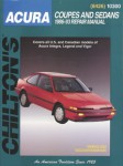 Chilton Acura Coupes and Sedans 1986-1993 Repair Manual