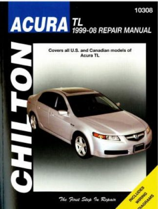 Chilton 1999-2008 Acura TL Repair Manual