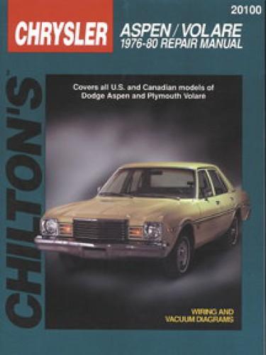 dodge aspen volare 1976 1980 chilton automobile repair manual 1978 dodge aspen super coupe 1978 dodge aspen wiring diagram #50