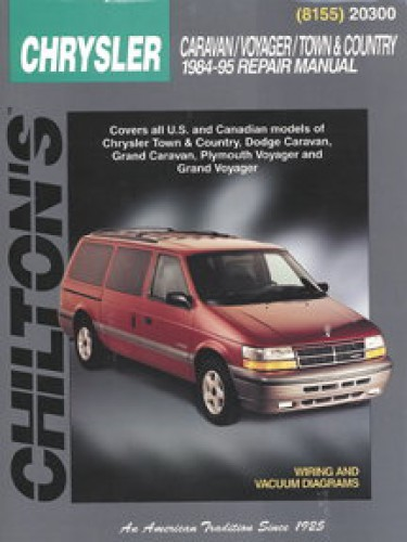 chilton dodge caravan voyager town country 1984 1995 repair manual rh repairmanual com 2006 Dodge Caravan User Manual 2002 Dodge Caravan Repair Manual