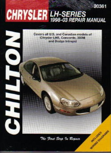 chilton chrysler lh series 1998 2003 repair manual. Black Bedroom Furniture Sets. Home Design Ideas