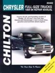 Chilton Dodge Pick-ups 1989-1996 Repair Manual