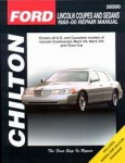 Chilton Lincoln Coupes and Sedans 1988-2000 Repair Manual