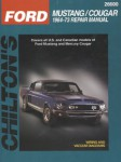 Chilton Ford Mustang Cougar 1964-1973 Repair Manual