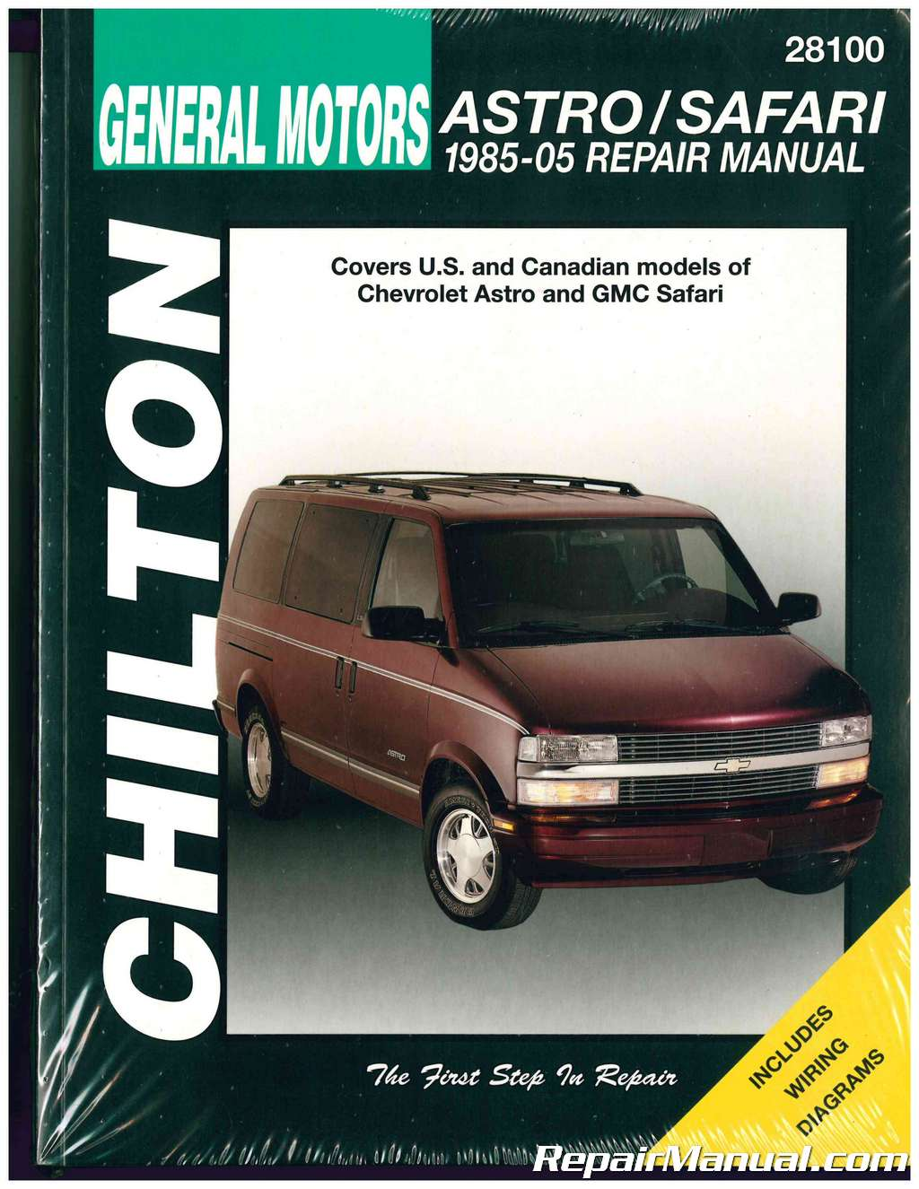 chilton chevrolet astro gmc safari 1985 2005 repair manual rh repairmanual  com 2005 GMC Safari Conversion Van 2003 GMC Safari Van