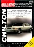 Chilton GM Bonneville Eighty-Eight LeSabre 1985-2005 Repair Manual