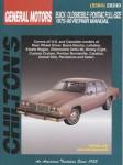 Chilton GM Full-size Buick Olds Pontiac 1975-1990 Repair Manual
