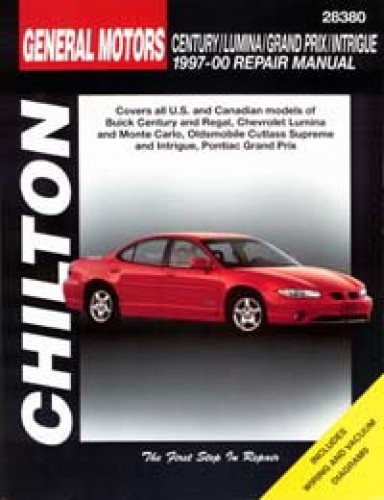 chilton gm century lumina grand prix intrigue 1997 2000 repair manual rh repairmanual com 2005 Buick Century 1999 Buick Century