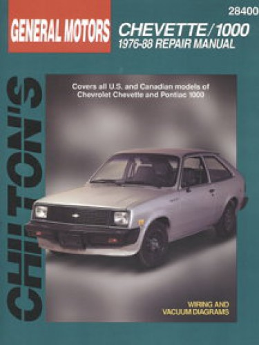 Chilton 1978 Chevy Manual