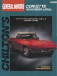 Chilton Chevrolet Corvette 1963-1982 Repair Manual