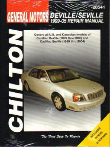 Chilton Cadillac DeVille Seville 1999-2010 Repair Manual