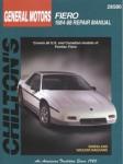 Chilton Pontiac Fiero 1984-1988 Repair Manual