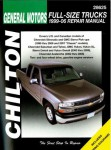 Chilton 1999-2007 Chevrolet GMC Pick-ups SUVs Repair Manual