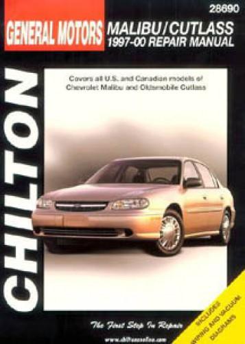 chilton gm malibu cutlass 1997 2000 repair manual rh repairmanual com 2000 chevy malibu service manual 2001 Malibu