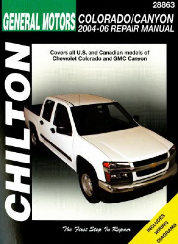 Chevrolet Colorado GMC Canyon 2004-2010 Haynes Truck Repair Manual