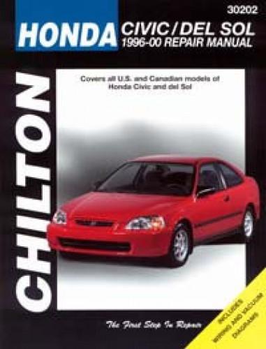 Chilton Honda Civic CRX and del SOL 1996-2000 Repair Manual