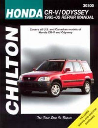 Chilton Honda CR-V Odyssey 1995-2000 Automotive Service Manual