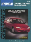 Chilton Hyundai Coupes Sedans 1994-1998 Repair Manual