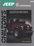 Chilton Jeep CJ 1945-1970 Repair Manual