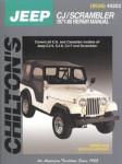 Chilton Jeep CJ Scrambler 1971-1986 Repair Manual