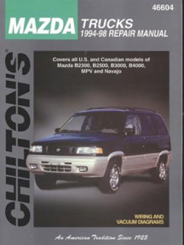 Chilton Mazda Trucks 1994-1998 Repair Manual