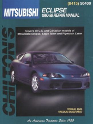 Chilton Mitsubishi Eclipse 1990-1998 Repair Manual