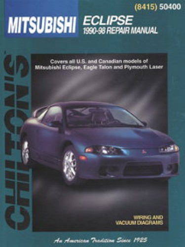 chilton mitsubishi eclipse 1990 1998 repair manual rh repairmanual com 91 Mitsubishi Eclipse 2015 Mitsubishi Eclipse