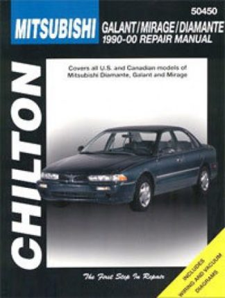 Chilton Mitsubishi Galant Mirage Diamante 1990-2000 Repair Manual