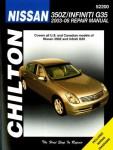 Chilton Nissan 350Z Infiniti G35 2003-2008 Repair Manual